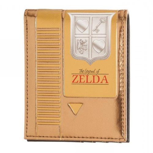 The Legend of Zelda Zelda Gold Cartridge Bi-Fold Wallet Apparel
