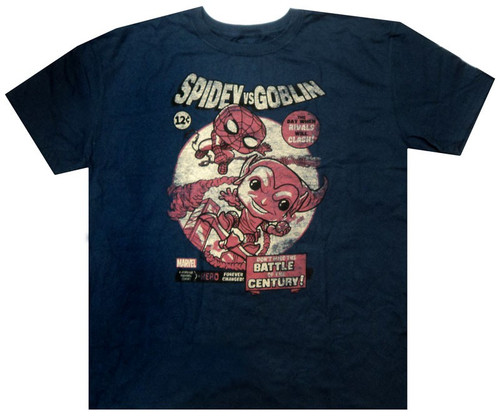 Funko Marvel Collector Corps Spidey vs. Goblin Exclusive T-Shirt [Large]