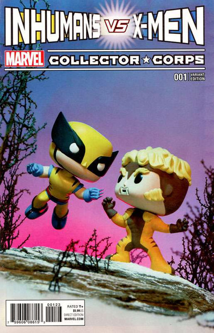Funko Marvel Inhumans vs X-Men Exclusive Comic Book [Superhero Showdown]