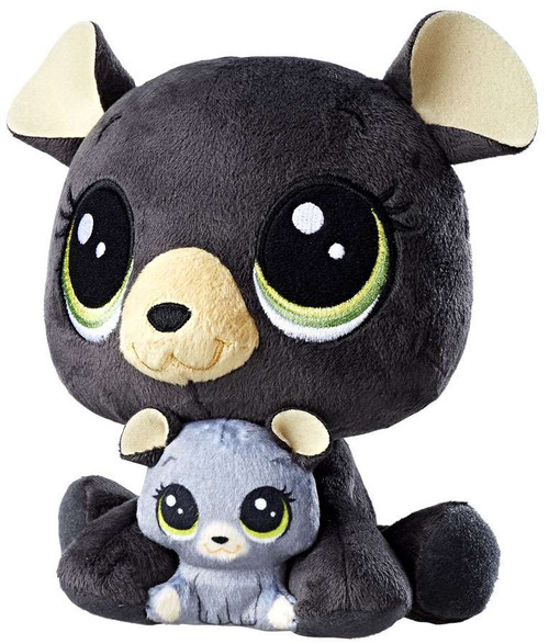 Littlest Pet Shop Plush Pairs Chestnut & Cocolina Bearly 6-Inch Plush
