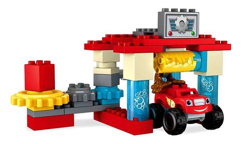 Mega Bloks Blaze & the Monster Machines Axle City Truck Wash Set DXF24