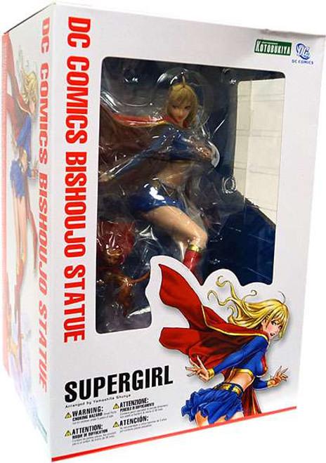 DC Universe Kotobukiya Bishoujo 1/7 Scale Supergirl Statue