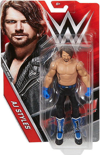 WWE Wrestling Series 68 AJ Styles Action Figure