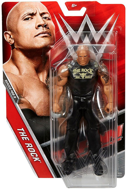 WWE Wrestling Series 68 The Rock Action Figure