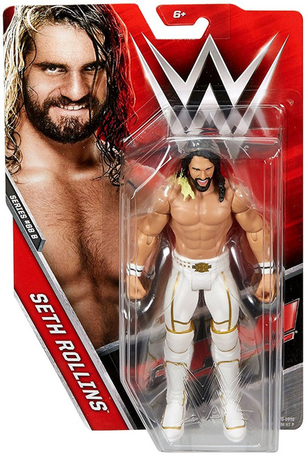 WWE Wrestling Series 68 Seth Rollins Action Figure