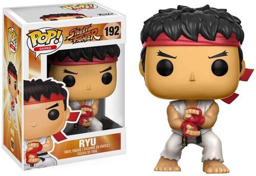 Funko Street Fighter POP! Games Ryu Exclusive Vinyl Figure #192 [Special Attack]