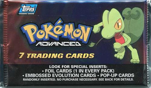 Pokemon Topps Advanced Trading Card Pack