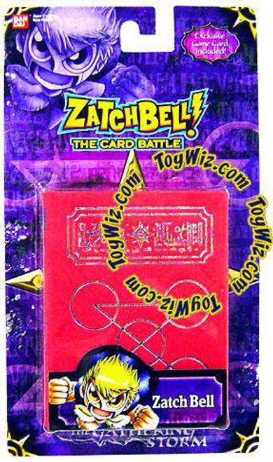 Zatch Bell Card Battle Game Gathering Storm Zatch's Red Spell Book [Loose]
