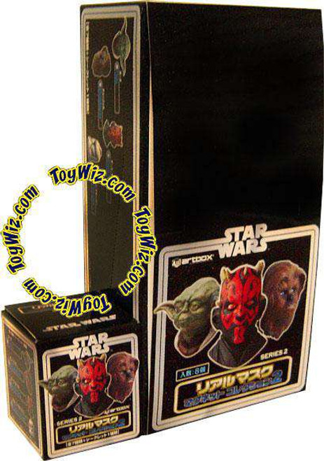 Star Wars Series 2 Kotobokiya Set of 8 Real Mask Magnets [Includes Bonus Figure]