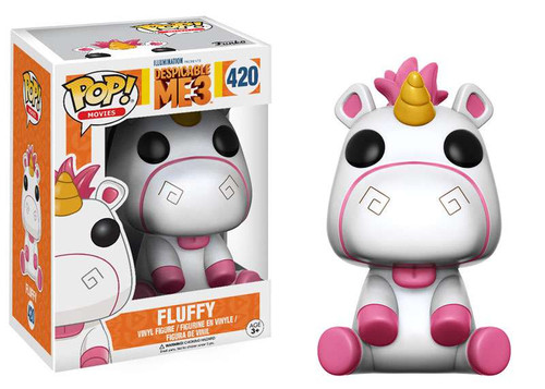 Funko Despicable Me 3 POP! Movies Fluffy Vinyl Figure #420