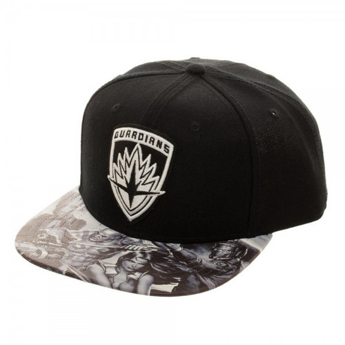 Marvel Guardians of the Galaxy Embroidered Snapback Cap Apparel