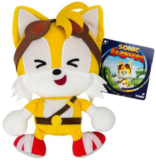 Sonic The Hedgehog Sonic Boom Emoji Tails 8-Inch Plush [Cute]