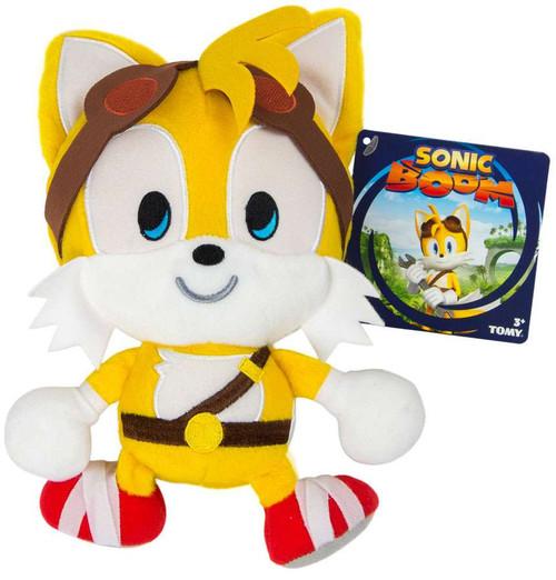 Sonic The Hedgehog Sonic Boom Emoji Tails 8-Inch Plush [Happy]