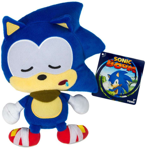 Sonic The Hedgehog Sonic Boom Emoji Sonic 8-Inch Plush [Sleepy]