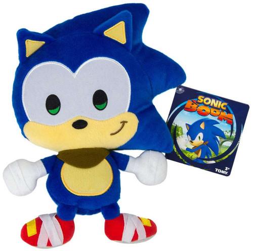 Sonic The Hedgehog Sonic Boom Emoji Sonic 8-Inch Plush [Happy]