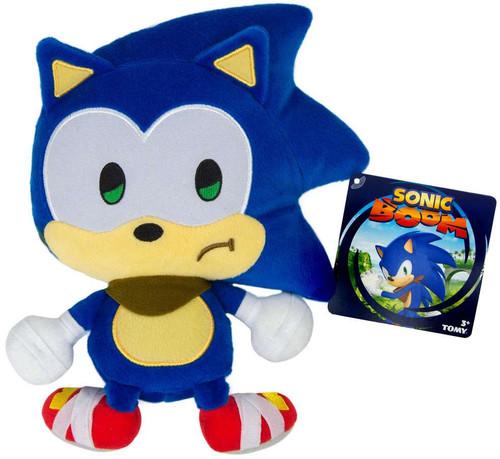 Sonic The Hedgehog Sonic Boom Emoji Sonic 8-Inch Plush [Sad]