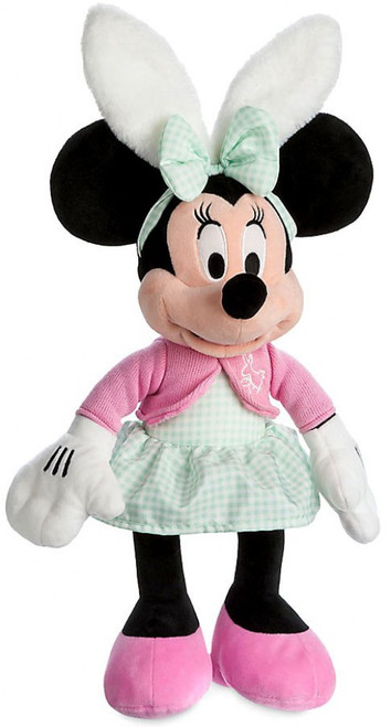 Disney 2017 Easter Minnie Mouse Exclusive 19-Inch Plush [Pink Sweater]