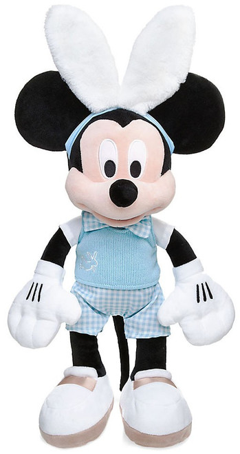 Disney 2017 Easter Mickey Mouse Exclusive 19-Inch Plush [White Bunny Ears]