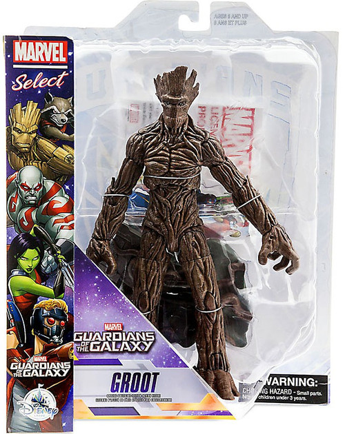 Guardians of the Galaxy Marvel Select Groot Exclusive Action Figure