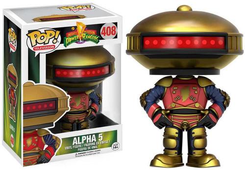 Funko Power Rangers POP! TV Alpha 5 Exclusive Vinyl Figure #408