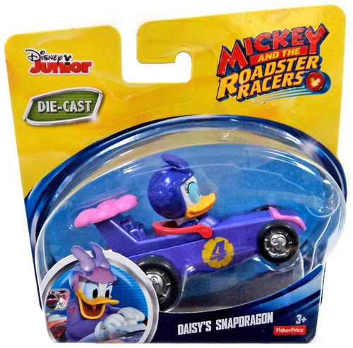 Fisher Price Disney Mickey & Roadster Racers Daisy's Snapdragon Diecast Vehicle