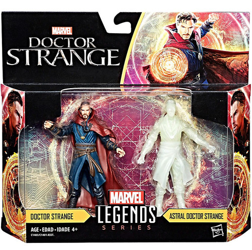 Guardians of the Galaxy Vol. 2 Marvel Legends Dr. Strange & Astral Action Figure 2-Pack