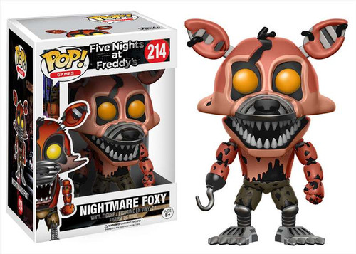 Funko Five Nights at Freddy's POP! Games Nightmare Foxy Vinyl Figure #214