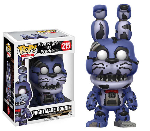 Funko Five Nights at Freddy's POP! Games Nightmare Bonnie Vinyl Figure #215