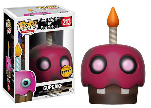 Funko Five Nights at Freddy's POP! Games Cupcake Vinyl Figure #213 [Chase Version]