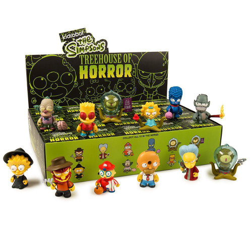 The Simpsons Vinyl Mini Figure Treehouse of Horror 3-Inch Mystery Box [20 Packs] (Pre-Order ships July)