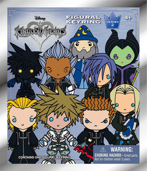 Disney 3D Figural Keyring Kingdom Hearts Series 2 Mystery Pack