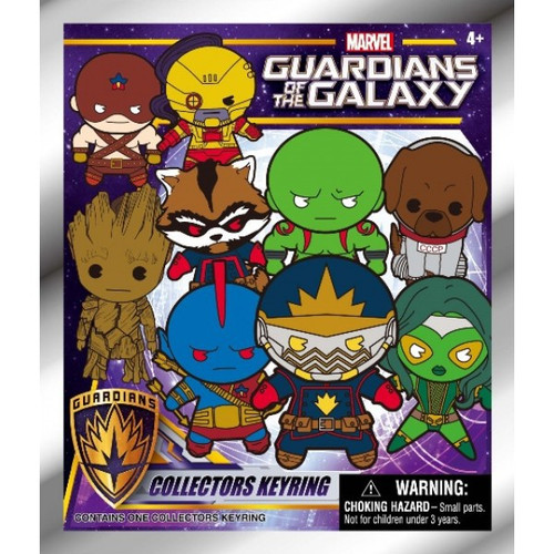 Marvel 3D Figural Keyring Guardians of the Galaxy Mystery Pack