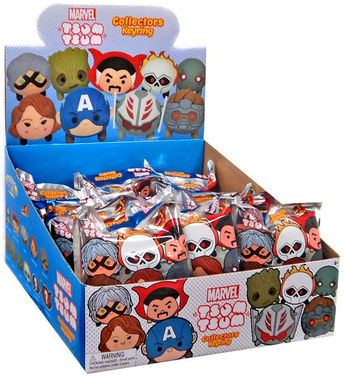 3D Figural Keyring Marvel Tsum Tsum 1 Mystery Box [24 packs]