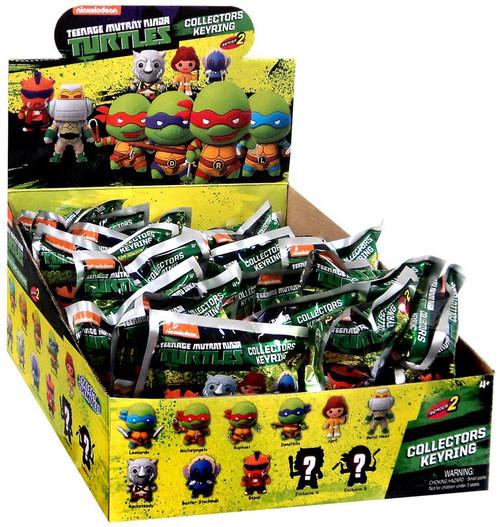 Teenage Mutant Ninja Turtles 3D Figural Keyring TMNT Series 2 Mystery Box [24 Packs]