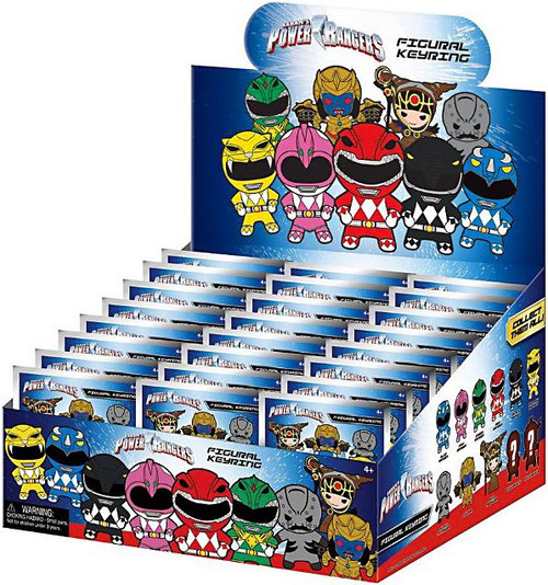 3D Figural Keyring Power Rangers Mystery Box [24 Packs]