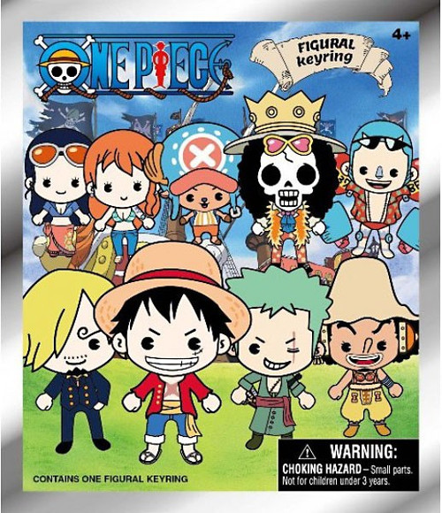 3D Figural Keyring One Piece Mystery Pack