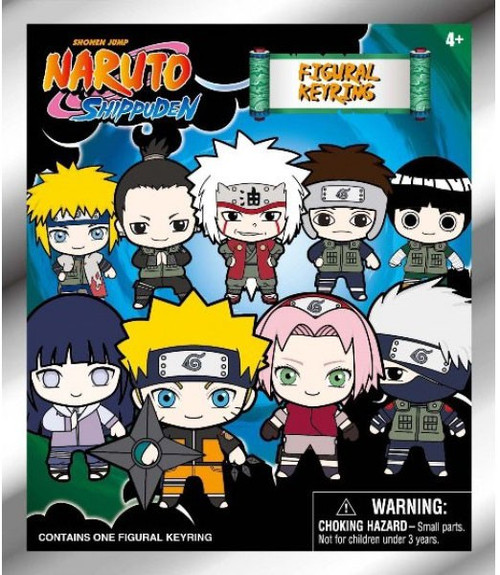 3D Figural Keyring Naruto Shippuden Series 1 Mystery Pack