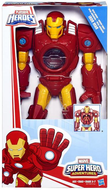 Marvel Playskool Heroes Super Hero Adventures Iron Man Action Figure