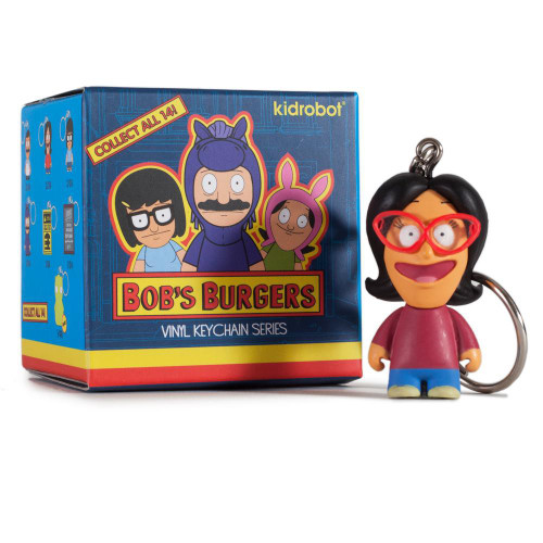 Vinyl Keychains Bob's Burgers 3-Inch Mystery Pack [1 RANDOM Figure!]