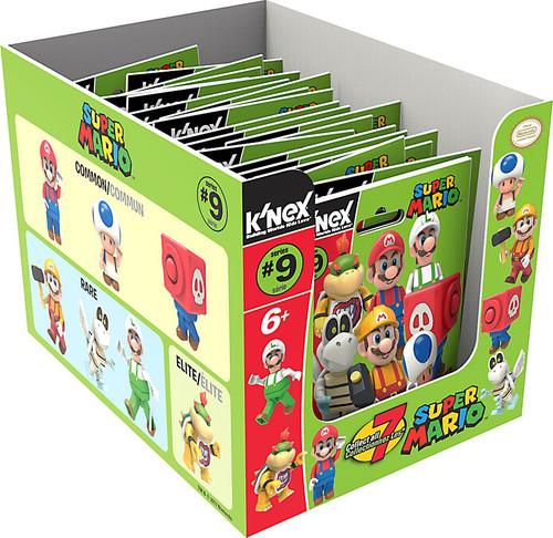K'NEX Super Mario Series 9 Mystery Box [24 Packs]