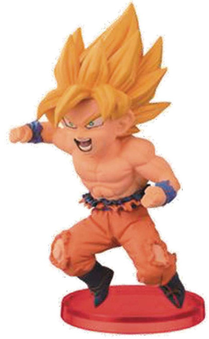 Dragon Ball Z WCF Vol. 2 Super Saiyan Goku 2.5-Inch Collectible Figure [No Shirt]