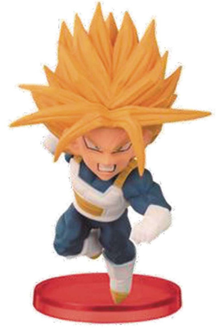 Dragon Ball Z WCF Vol. 2 Super Saiyan Trunks 2.5-Inch Collectible Figure [Battle Armor]