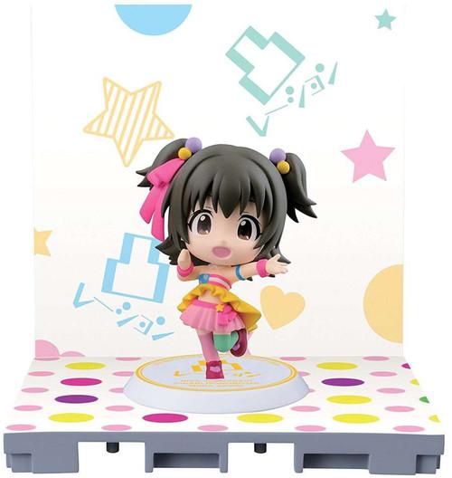 Idolmaster: Cinderella Girls Miria Akagi 2.4-Inch Chibi-Kyun-Chara Figure [Let's Go Happy!]
