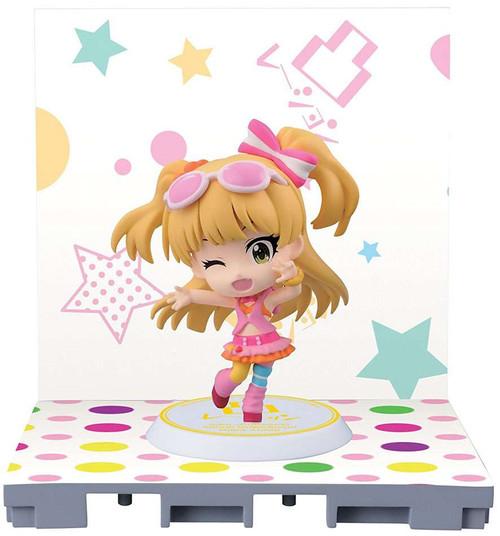 Idolmaster: Cinderella Girls Rika Jougasaki 2.4-Inch Chibi-Kyun-Chara Figure [Let's Go Happy!]
