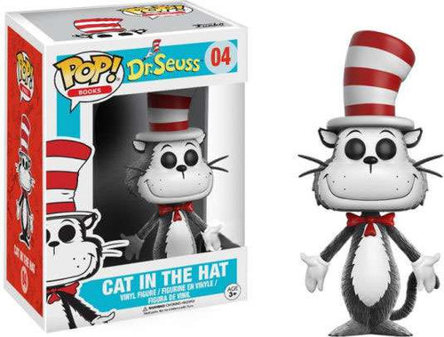 Funko Dr. Seuss POP! Books Cat in the Hat Exclusive Vinyl Figure #04 [Hands to the Side]