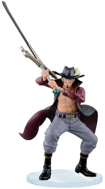 One Piece Dramatic Showcase Vol.2 Dracule Mihawk 6.3-Inch Collectible Figure