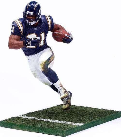 McFarlane Toys NFL San Diego Chargers Sports Picks Series 10 LaDainian Tomlinson Action Figure [Blue Jersey, Damaged Package]