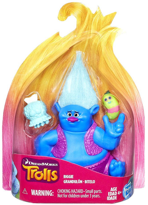 Trolls Biggie Action Figure [with Mr. Dinkles]