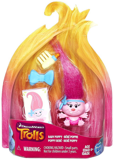 Trolls Baby Poppy Action Figure