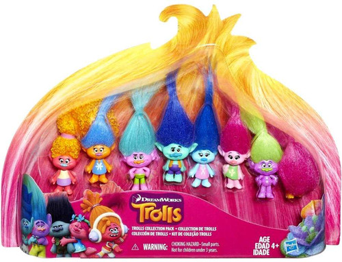 Trolls Collection Pack Exclusive Mini Figure 8-Pack